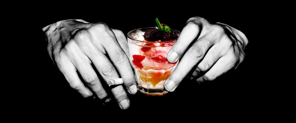 Add Some Flavonoids to Your Cigarettes-and-Booze Diet, You Degenerate