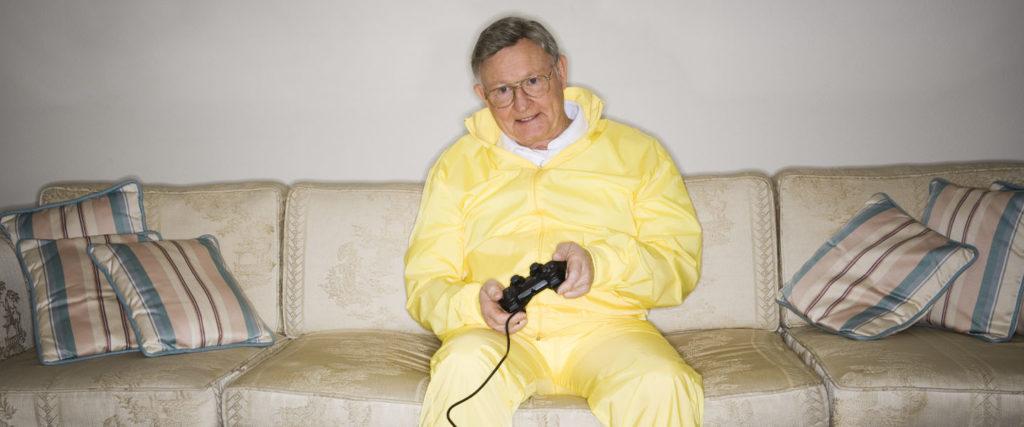 Meet the Gamer Grandpas: The Seniors Who Spend Retirement Playing 'Fortnite'