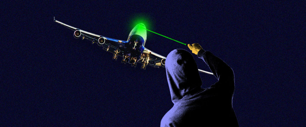 A Blinding History of the Laser Pointer
