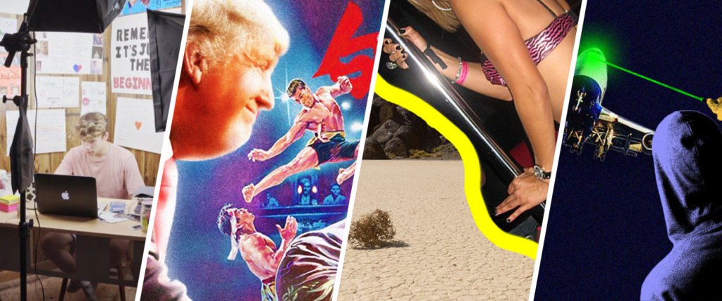 The Summertime Stripper Blues, Trump <3 'Bloodsport' and Why Spitting in Someone's Face is the Boldest Move of All