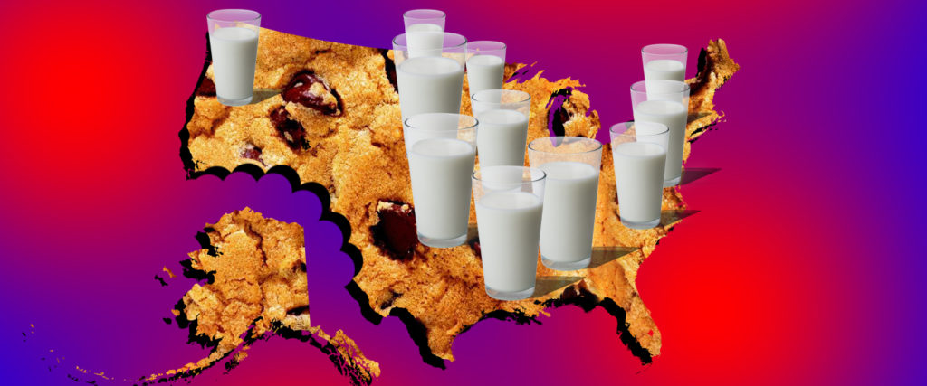 How America's Insane Dairy Lobby Made Milk Every State's Official Drink