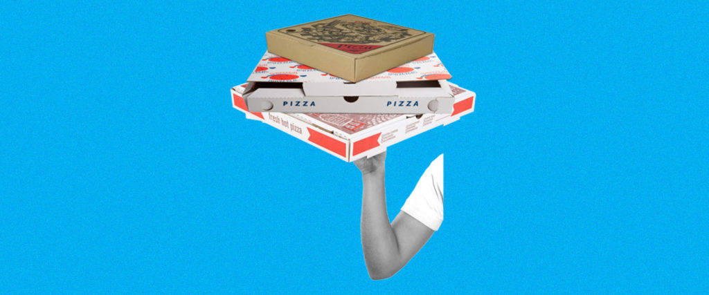 How Come Every Takeout Pizza Box Has Different Artwork?
