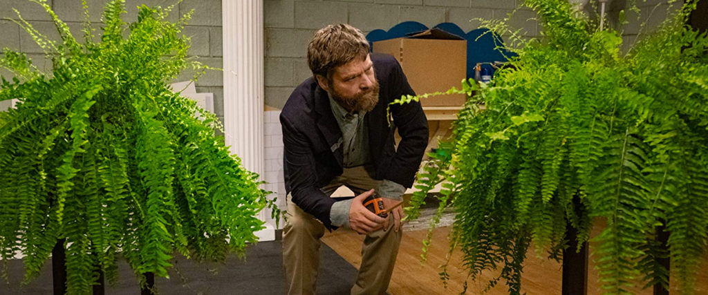 With the 'Between Two Ferns' Movie, Zach Galifianakis Discovers It's Hard to Make Success Funny