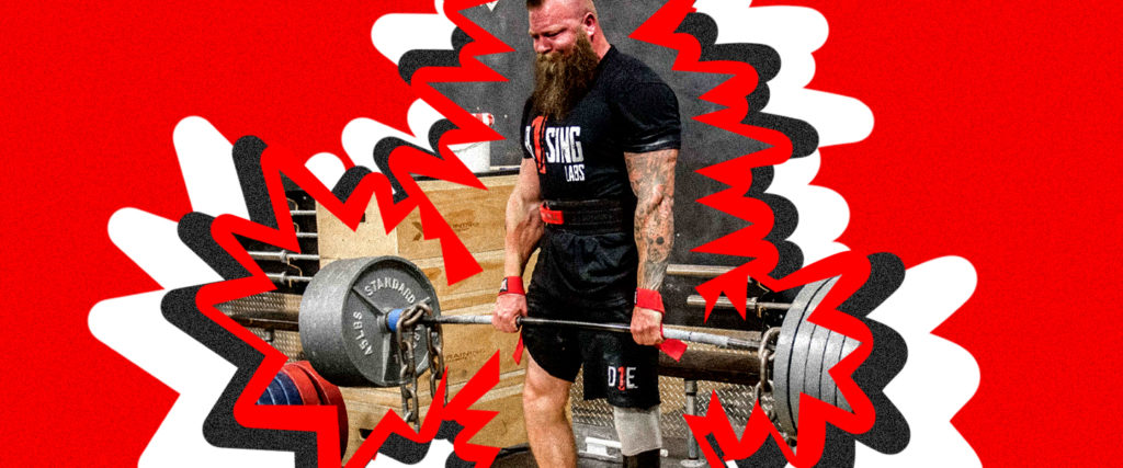 How the World's Strongest Amputee Lifts All That Record-Setting Weight