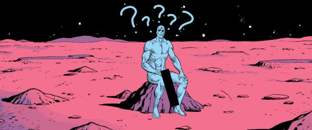 Doctor Manhattan Has the Most Debated Dick in Fandom