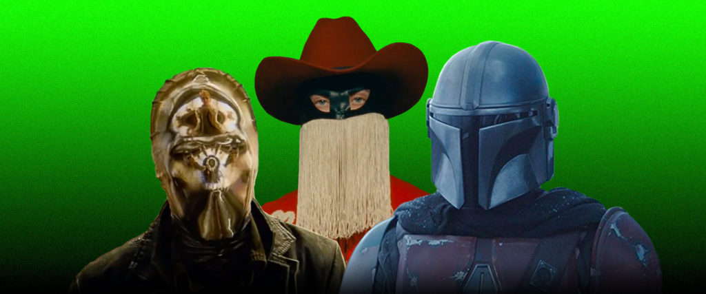 Why Are TV's Sexiest Guys All Wearing Masks?