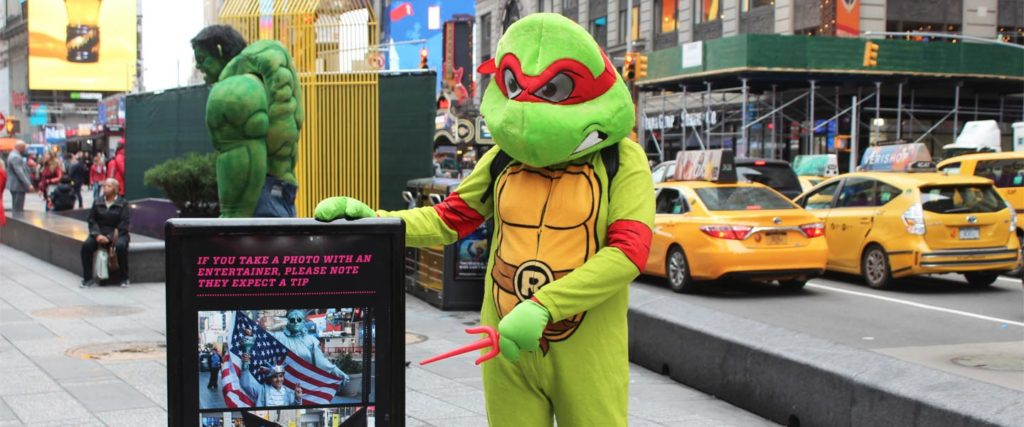 I Spent A Day As a Times Square Mascot