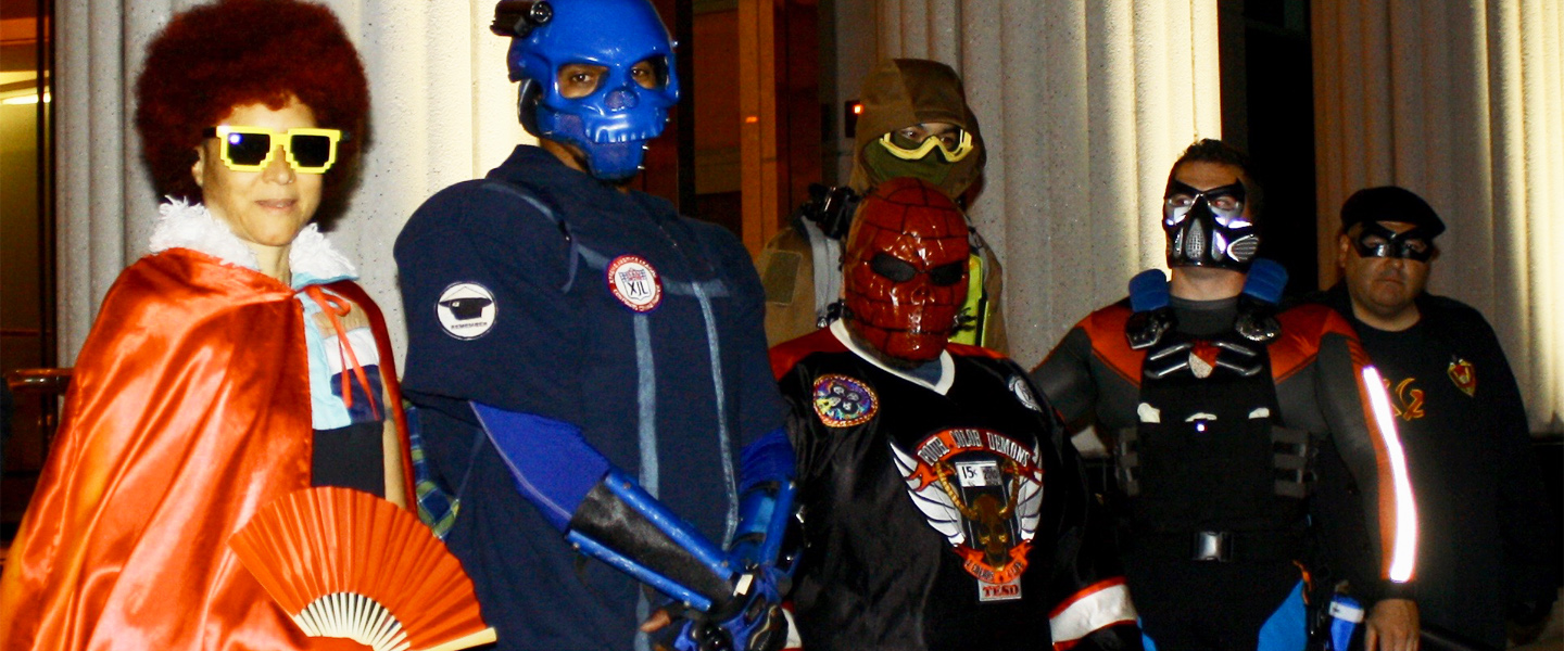 Fighting Crime With San Diego's Real-Life Superhero Squad