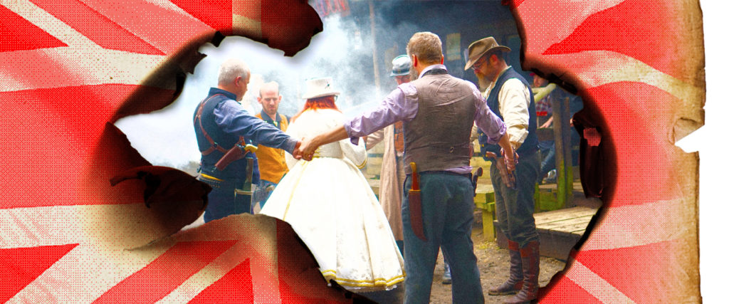 The British Guys Who LARP as American Cowboys