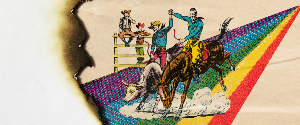 The Homo Rodeo Rides Off Into the Sunset