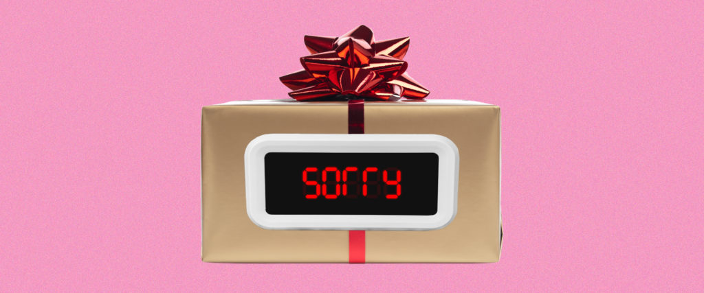 The Last-Minute Procrastinators Gift Guide: Apology Gifts
