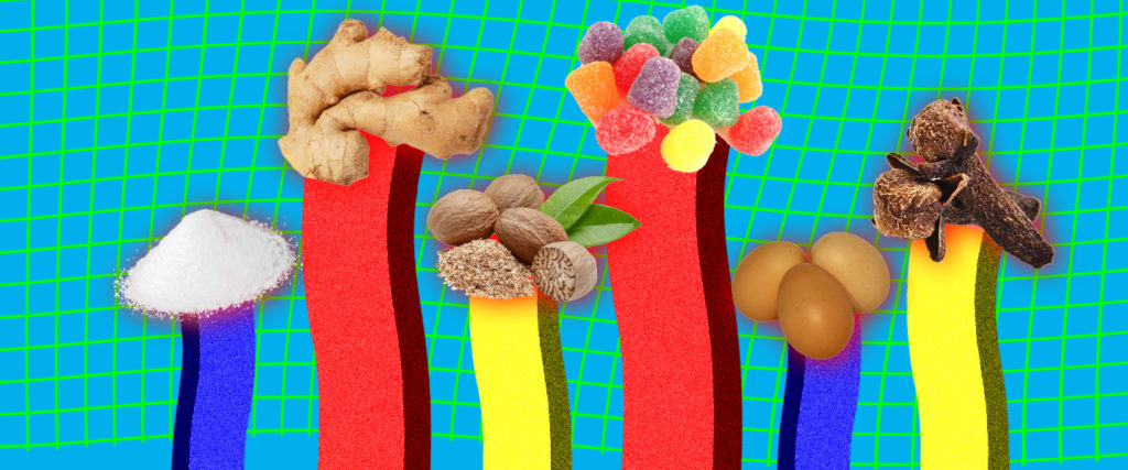 Ranking Gingerbread House Components by How Unhealthy They Are