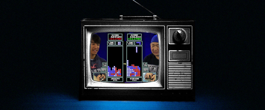 The Unlikely Story of How Competitive 'Tetris' Went Viral