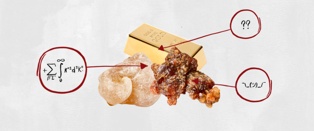 What's in This?: Gold, Frankincense and Myrrh