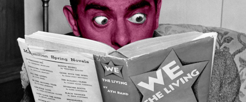 What's Up With Guys Becoming Obsessed With Ayn Rand in College?