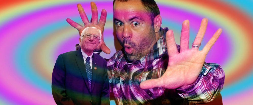 Here's What's Actually Scary About Joe Rogan's Bernie Endorsement
