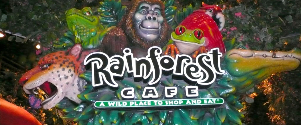 Pouring One Out for My Gay Childhood at Rainforest Cafe