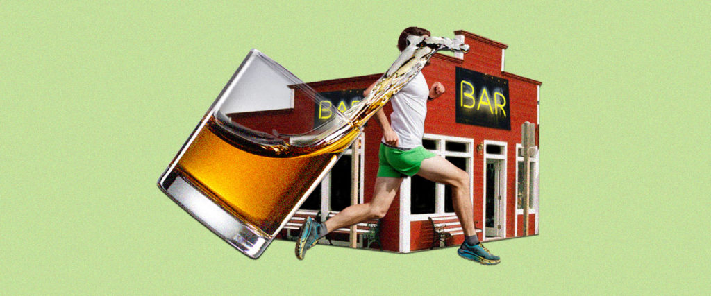 An Ode to Drunkenly Running Home From the Bar