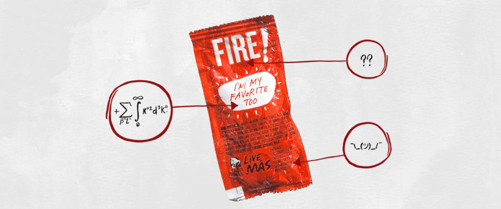 What's in This?: Taco Bell Fire Sauce
