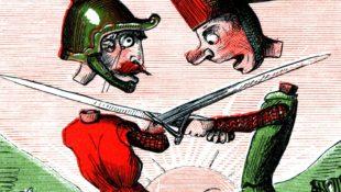 Duel Divorce by Swordfight