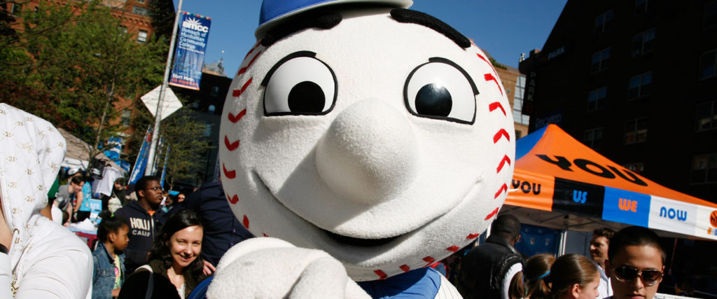Mr. Met Is Here to Tell You How to Wear Your Goddamn Mask