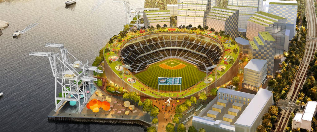 The A's Want a New Ballpark to Give Oakland More Than Peanuts