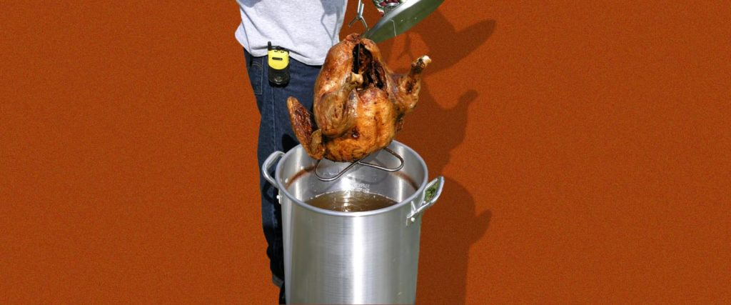 How to Deep-Fry Your Turkey Without Burning Your House Down