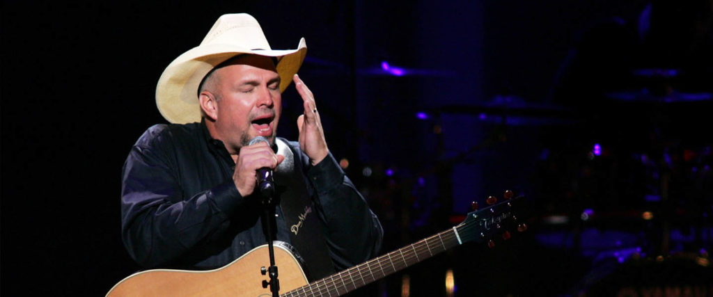 For Yet Another Presidency, America Turns Its Weary Ears to Garth Brooks