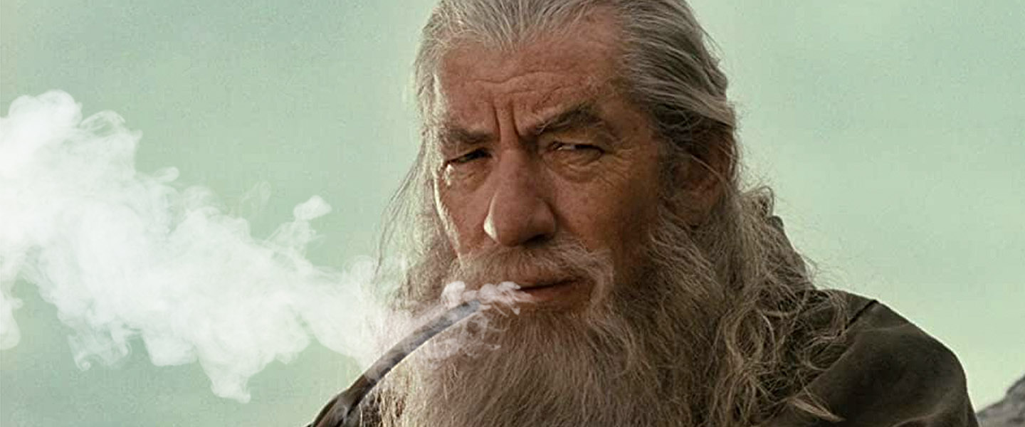 What Was Gandalf Smoking in The Lord of the Rings Weed